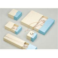 China Custom Made Jewelry Boxes Case , Fancy Recycled Small Cardboard Gift Boxes wholesale