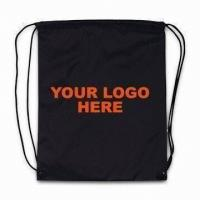 China Eco Friendly Backpack Organic Cotton Bags with Heat transfer Printing wholesale