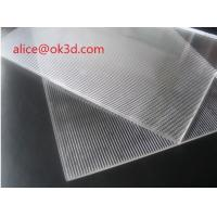 China China Factory manufacture 16LPI 6MM 120X240CM PS Lenticular Sheet for INJEKT Printer wholesale