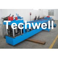 China U Channel Roll Forming Machine for Making U Purlin Profile with Pre-cutting & Pre-punching wholesale