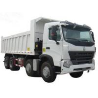 China popular type HOWO 371hp dump truck white color direct selling LHD or RHD wholesale