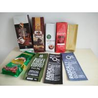 China Aluminum Foil Coffee Bag With Valve / Coffee Beans Plastic Pouches Packaging 250g 500g 1000g wholesale