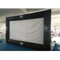 China Portable Inflatable Projector Movie Screen Logo Printing EN14960 Approved wholesale