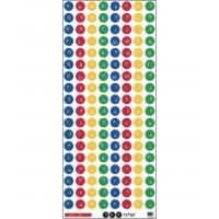China sequential number stickers on sale