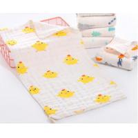 China Super Soft Face Bath Towel Organic Washcloths Burp Cloth Sweet Printed Design wholesale