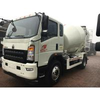 China 4×2 3 Cube Meter Light Concrete Mixer Truck Curb Weight 4.5 Tons Weather Resistance wholesale