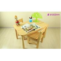 Tiger School furniture square table with chairs