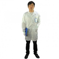 China 5mm Strip Cleanroom Smock wholesale