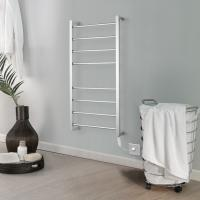 China Pratical Modern Stainless Steel Wall Mounted Electric Heated  Towel Rack wholesale