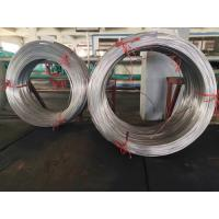 China Low carbon single Wall coated galvanized Steel Bundy Tube surface be flat 4.76mm X 0.7 mm wholesale