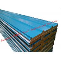 Recycled Usage Fire Resistant Rock Wool Sandwich Panels Easy Installation Roof