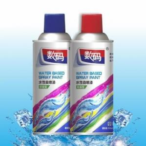 China Water Based Multicolor Acrylic Aerosol Spray Paint wholesale