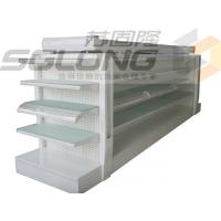 China Metal Lotion Shelf Single / Double Sided Gondola Shelving Color Optional wholesale