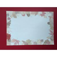 China Maple Leaf Design Letterhead Stationery Paper Custom Service Supported wholesale