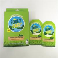 China Reusable Spout Pouch Packaging BPA Free Custom Printed Double Zipper With Nozzle wholesale