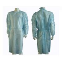 China Lightweight Non Woven Disposable Exam Gowns wholesale