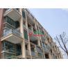 Buy cheap Plastic Wood Prefabricated Wall Mounted Pergola Moisture Resistance Environmenta from wholesalers