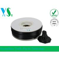 China Black 3D Printer HIPS Filament 3.0mm Consumables With Paper Spool wholesale