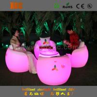 China Waterproof Glowing LED Bar Chair Stools for Events with 16 colors changeable wholesale