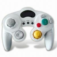 China Dual Shock Controller with Turbo Function, Compatible with Wii/Game Cube wholesale