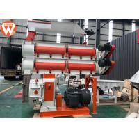 China 1.5 - 12mm Pellet Size Poultry Animal Feed Mill Pellet Machine With Double Layer Conditioner wholesale