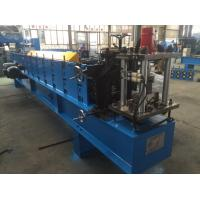 China 1.5mm Z  Purlin Cold Roll Forming Machine 14 Stations with 1.2 inch Chain wholesale