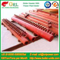 China 330 MW Waste Heat Petrochemical Industry Recovery Boiler Water Header TUV wholesale
