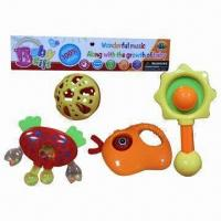 China Rattle Toys with 4-pc Rattle per Pack wholesale