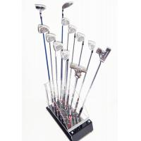 China High Quality custom Golf Club Display Stand (12 Golf's Club Storage) Camber Acrylic wholesale