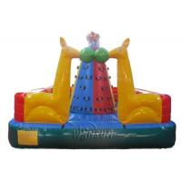 China Three Layers PVC Inflatable Climbing Mountain For Pre - School / Kindergarten on sale