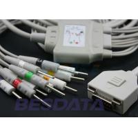 China Besdata ECG / EKG Medical Cables , 10 Leads And Cables For Model KP-500 wholesale