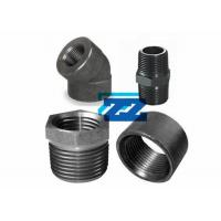China Carbon Steel Threaded Pipe Fittings 1 / 8 To 4 Inch ASTM A105 ASME B16 11 wholesale
