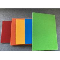 China Velcro Loop Surface Board Pet Felt Acoustic Panels Pin Board 9mm Thickness on sale