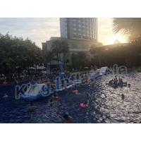 China Commercial Grade Kids Blow Up Water Park , Giant Inflatable Water Sports wholesale