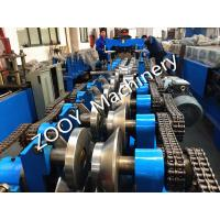 China Panasonic PLC Control C Z Interchangeable Forming Machine With Cr12 Mov Steel HR58-62 Punching Dies wholesale