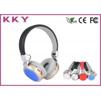 China Cell Phone High End On Ear Bluetooth Headphones With Internal Rechargeable Batter wholesale