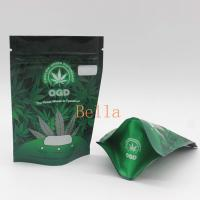 China Clear Front Mylar Zip Plastic Bags CBD Frog Chew Gummies Package Sachet Pouch wholesale