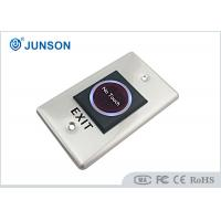 China Infrared Touch Free Exit Push Button Door Release Sensor SS304 Plating Material wholesale