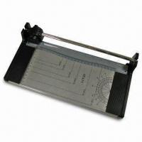China Paper Trimmer with Metal Base and 1kg Weight, A5 Size 25cm Cutting Length on sale