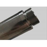 China 20 L Well Sand Johnson Wire Screen With Male / Female Threaded End Closed wholesale