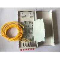 China Mini Wall Outlet Fiber Distribution Box 4 / 8 / 12 Core FTTH Termination Box on sale