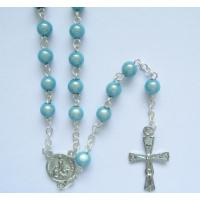 China plastic rosary - bead in bead rosary on sale
