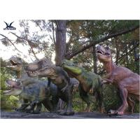 China Attractive Robotic Life Size Dinosaur Statues With Dinosaur Alive Roaring Sound wholesale
