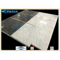Water Jet Cut Marble Stone Honeycomb Mosaic Tile For Raised Floor Module