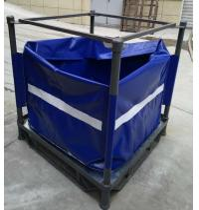 China Multi Trip PVC Liquid Jumbo Bag For Water Oil Juice Storage And Transportation wholesale