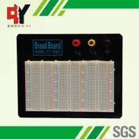 China Black Plate ABS Plastic Prototyping Breadboard With Color Printed wholesale