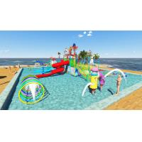 Quality Commercial Kid Water Park Design Fiberglass Pool Play Water Equipment for sale