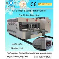 China 380V Stable Carton Packing Machine With Die Cutter / Corrugated Case Flexo Printer wholesale