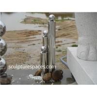 China Stainless steel fountain water feature wholesale