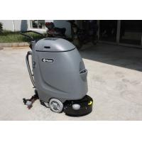 China Small Hand Push Cleaner Compact Floor Scrubber Machine With 20m Electrical Wire wholesale